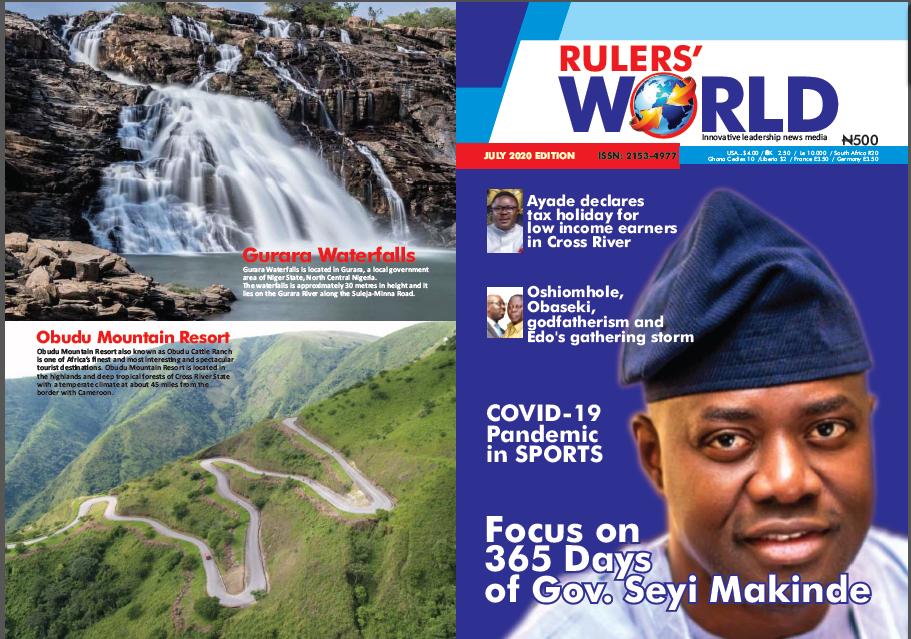 Rulers World Magazine July 2020