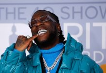 """Burna Boy sets record, Burna Boy's single """"Ye"""", certified Gold by the Recording Industry Association of America (RIAA),"""