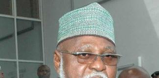 helicopter supplying food to bandits, Abdulsalami Abubakar denies, fake news, Abdulsalami's helicopter to bandits