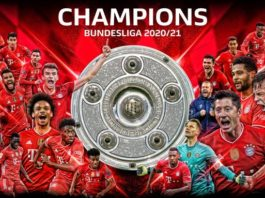 Borussia Dortmund. national title, nine Bundesliga titles, RB Leipzig, Bayern Munich wins Bundesliga,