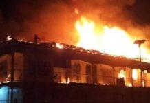 Arsonists raze INEC office in Enugu, Fire guts houses, Fire guts Abuja supermarket, Ladipo market fire, set ablaze, burn facilities, INEC offices, Ebonyi State, Abakaliki