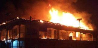 Fire guts Abuja supermarket, Ladipo market fire, set ablaze, burn facilities, INEC offices, Ebonyi State, Abakaliki