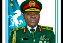 Senate confirm COAS Yahaya, Yahaya assumes office, new chief of staff, Major General Farouk Yahaya