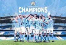 Man city wins EPL, third premier league title, English premier league, Manchester City, Pep Guardiola