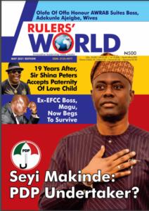 Rulers World Magazine May Edition