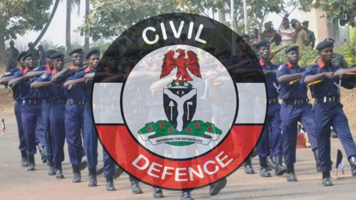 NSCDC parades 11 suspects in Ekiti, nscdc intercepts in Imo, pipeline vandals in Imo, NSCDC intercepts, truckload of crude oil, Nigeria Security and Civil Defence Corps (NSCDC)