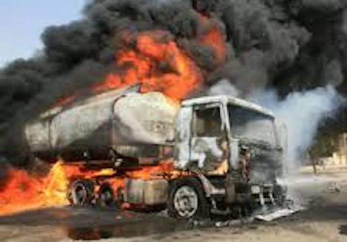 fuel tanker explodes in Lagos, tanker explodes in Kano, 64 persons injured, in Kano fire incident