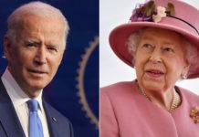 Biden meet Queen Elizabeth