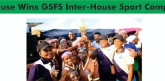 GSFS Inter-House Sports Competition