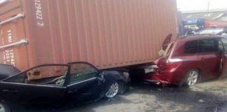 Otedola Bridge container accident