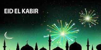 Eid-el-Kabir holidays