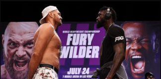 Fury hits back Joshua, Fury tests COVID-19 positive