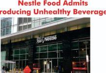 Nestlé unhealthy beverages