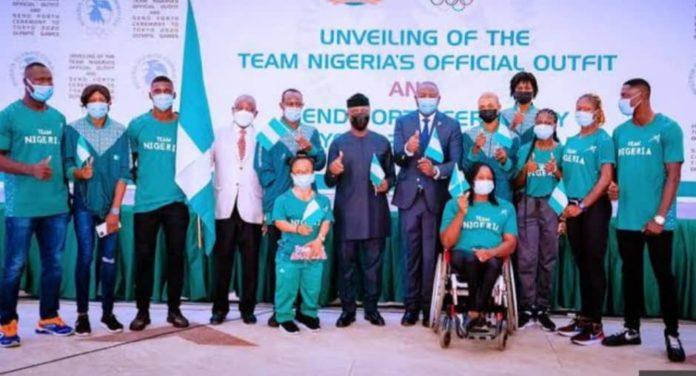 Nigerian athletes Tokyo Olympics