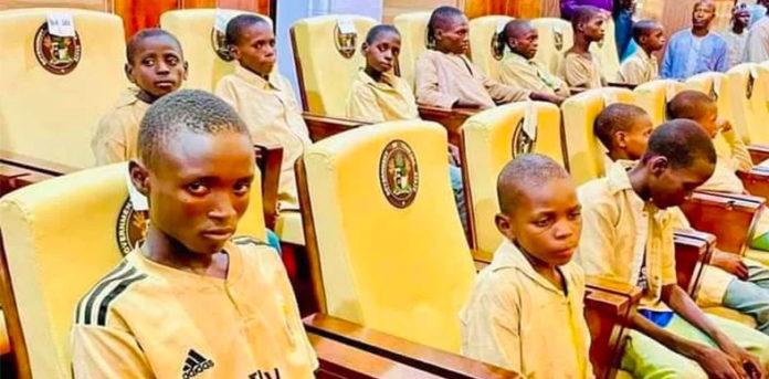 Zamfara school children regain freedom