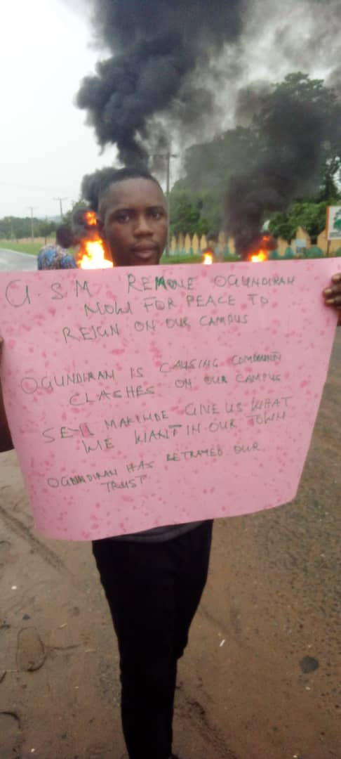 Tension in Ibarapa as residents reject new Ibarapa poly rector