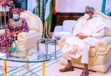 Okonjo-Iweala meets Buhari in New York